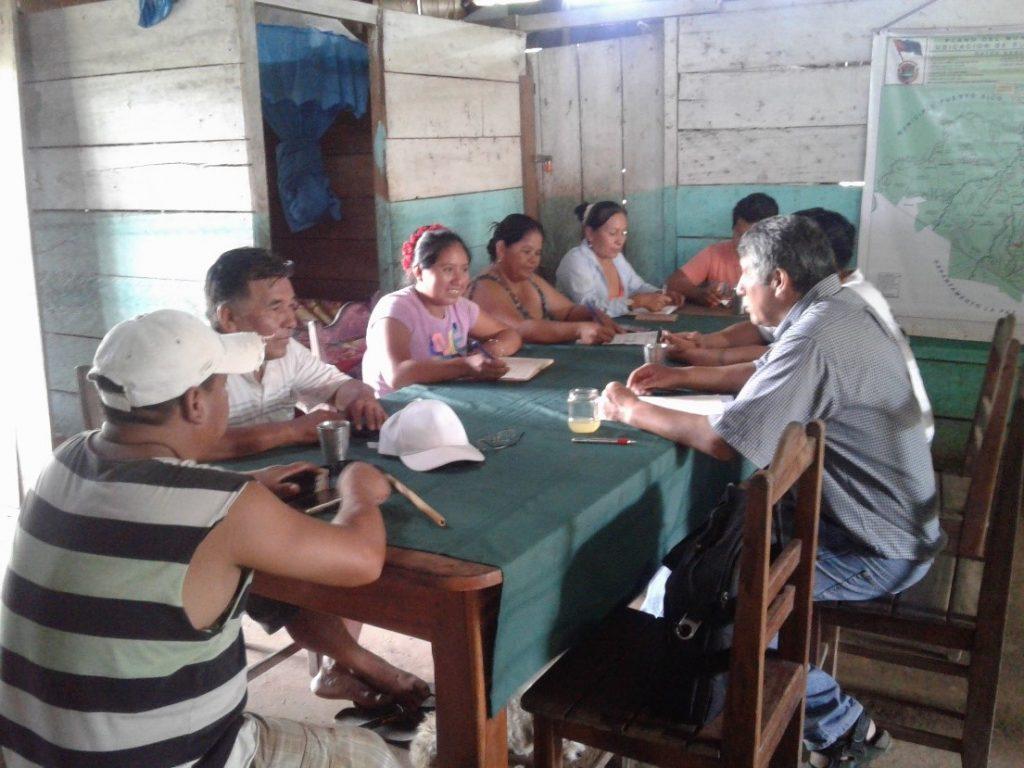 Central Campesina del Sena e IPDRS planifican trabajo el para el año 2020