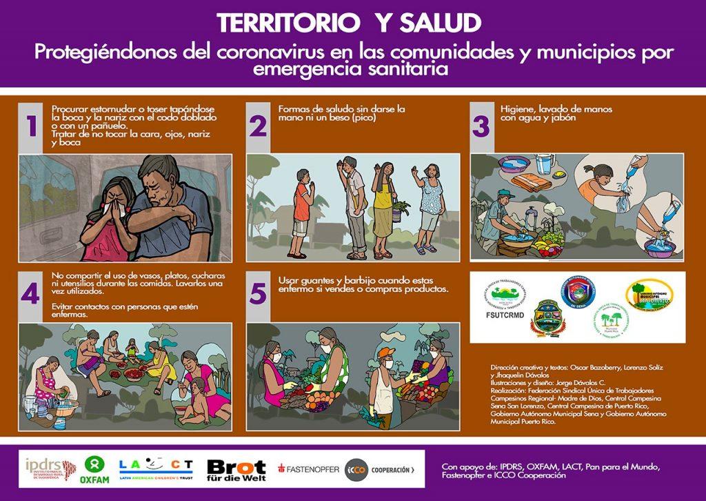 Ilustraciones para enfrentar el Covid-19 en la Amazonía (parte 1)