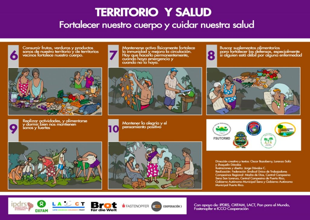 Ilustraciones para enfrentar el Covid-19 en la Amazonía (parte 2)