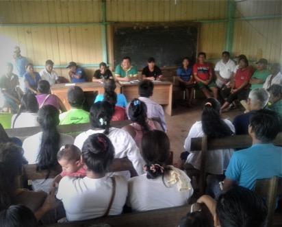 Comunidad Sena otorga área de bosque y de plantación para práctica de niños, niñas y jóvenes