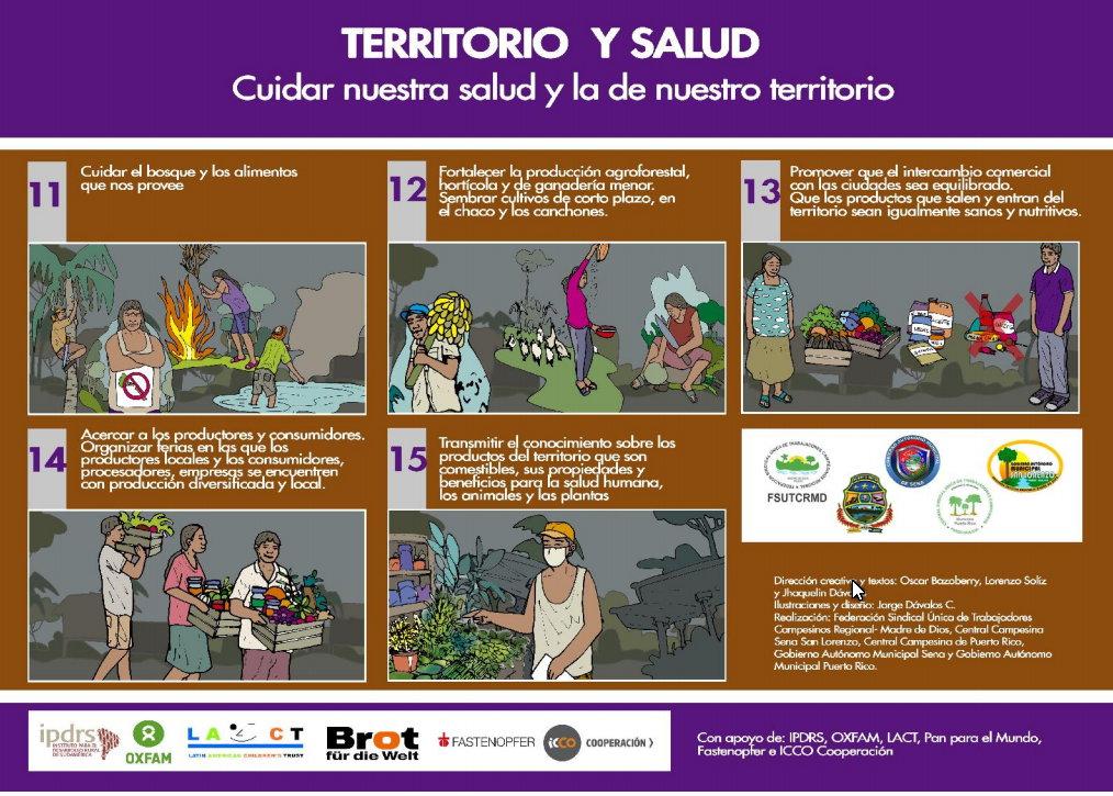 Ilustraciones para enfrentar el Covid-19 en la Amazonía (parte 3)