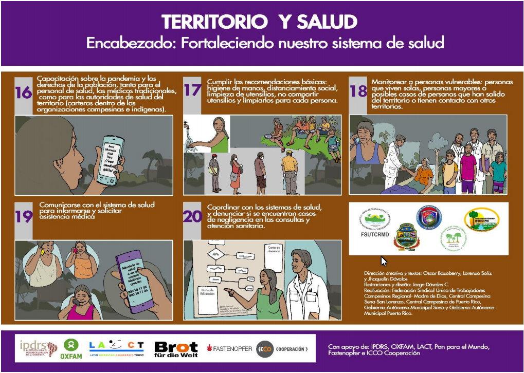 Ilustraciones para enfrentar el Covid-19 en la Amazonía (parte 4)