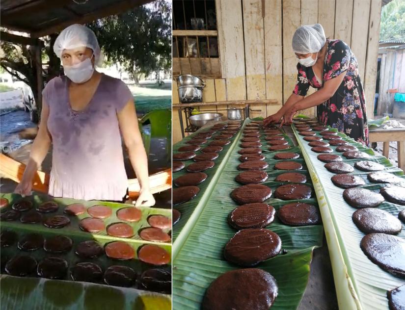 Mujeres, con cacao y whatsapp, le hacen frente a los efectos de la cuarentena por covid-19