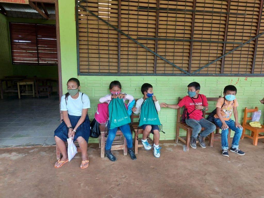 Comunidad educativa e IPDRS en alianza para que niñas y niños de Villa Fátima, Cobija-Pando continúen con sus estudios